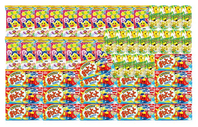 的当て大会用景品 一部予約 お子様に待ち時間遊んでいただける メーカー直送 一球入魂 的当て大会お菓子 本体は別売り 代引き不可商品 ※景品のみの販売 約100人用