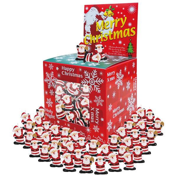 クリスマス お菓子景品 すくいどり大会 クリスマスキャンドル つかみどり50人用 子供会・町内会・小売店用景品に最適 【代引き不可商品】