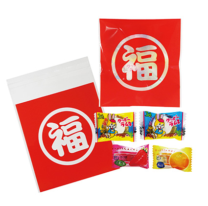 まる福お菓子セット 300個セット販売 【代引き不可商品】 お正月景品 食品 新年のご挨拶ギフト