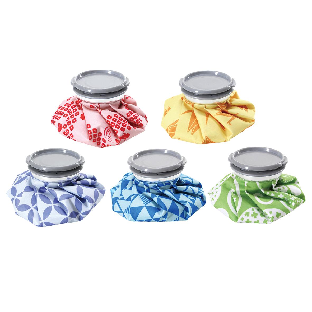 和柄ひょうのう 120個セット販売 色鮮やかな和柄が可愛い 冷温両用 温め・冷やしどちらも可能 アイスバッグ 氷嚢