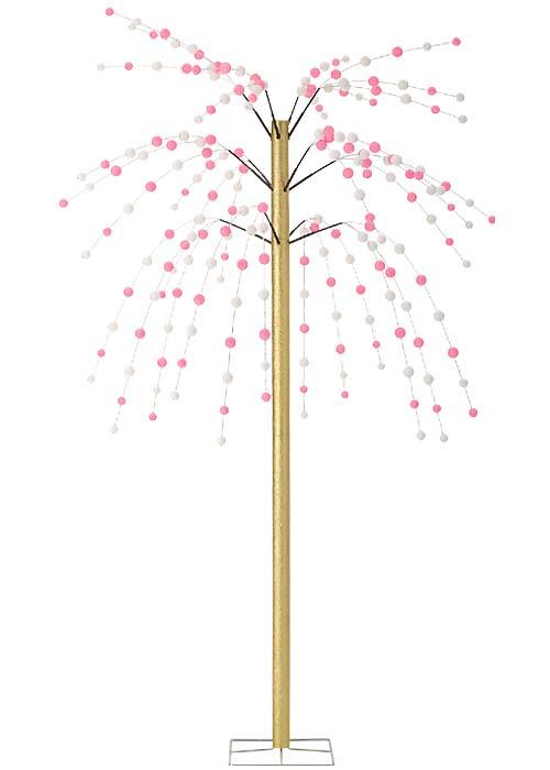 お正月装飾 210cm 舞玉立木(スタンド付き) 【代引き不可商品】