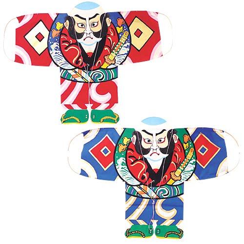 お正月装飾 ディスプレイ用 凧 手すき和紙奴凧 2枚セット