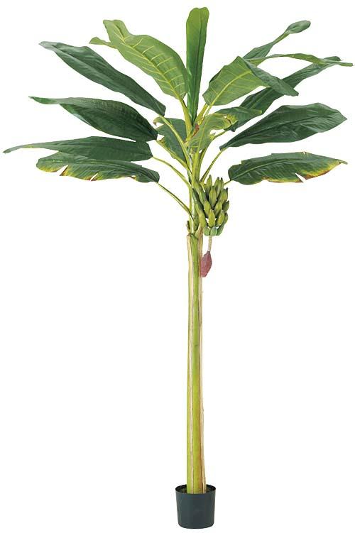 270cm バナナフラワーツリー 観葉植物造花装飾 【代引き不可商品】※ポットは別売り