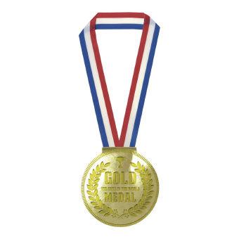 金メダルメモ 60枚 (JYG01-01) 金色に輝くメモ帳。イベントや運動会・オリンピック向けの粗品に 50個セット販売