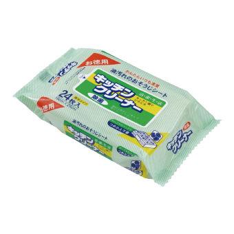 キッチンクリーナー24枚1P (O-3) 日本製 100個セット販売 お徳用キッチンクリーナー:ゴールドスター