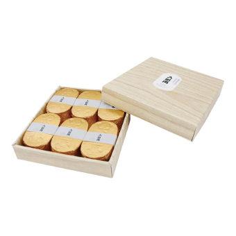 小判型バスボム 入浴両6個入り 発泡タイプ 煌びやかなゴールデンブーケの香り 10個セット販売
