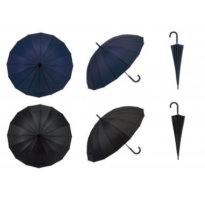 クラシックカラー16本骨傘 通常の8本骨と比較して強くて丈夫。悪天候や強風の日も心強い16本骨傘 36本セット販売 【名入れ可能商品】