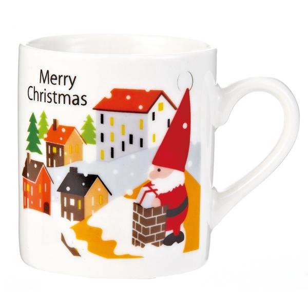 クリスマス 景品 サンタマグカップ 60個セット販売 子供会・町内会・小売店用景品に最適