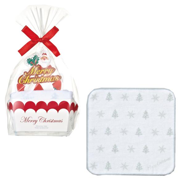 クリスマス 景品 クリスマスケーキタオル 80個セット販売 子供会・町内会・小売店用景品に最適