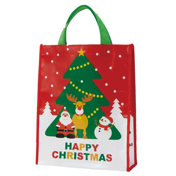 クリスマス 景品 クリスマスバッグ(中) 150個セット販売 子供会・町内会・小売店用景品に最適