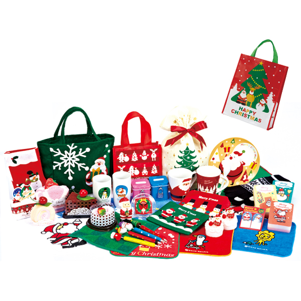 クリスマス 福袋B おまかせ商品が4~5品入ります 36袋セット販売 ※画像商品は一例です、変更する場合もございます
