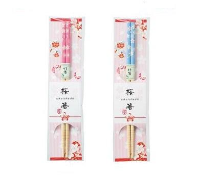 桜箸 300個販売 さくら 春の販促品 さくらイラスト 竹箸