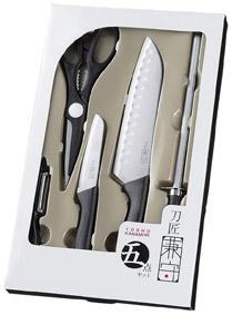 刀匠兼守 五点セット 36個セット販売 キッチンツール5点セット 調理器具 販促品