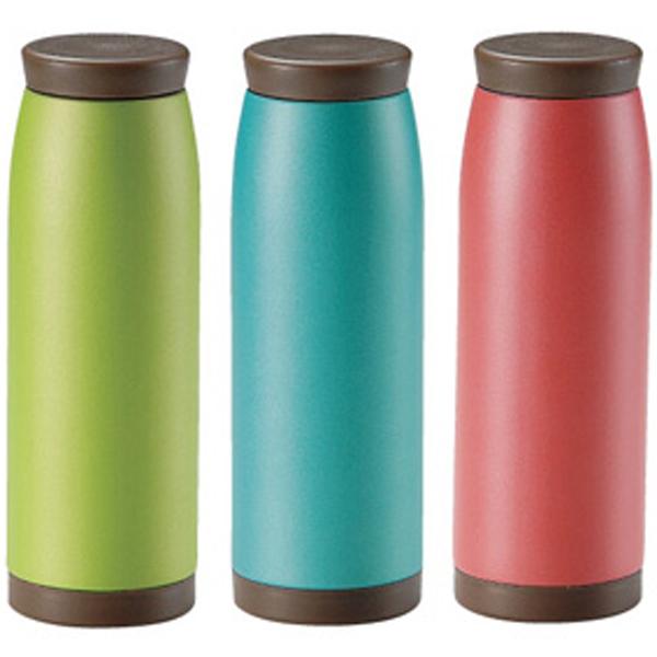 タンブラー ボトル 真空保冷温ほっこりマグボトル540ml 3色取り混ぜ※色指定不可 48個セット販売