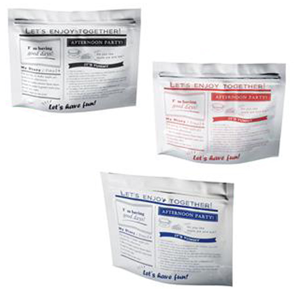 【アルミ素材のジッパーバッグ お土産袋 コーヒー袋に】  マチ付きアルミジッパーバッグ3枚セット販売 開封しやすいジッパー・マチで自立できる 480個セット販売