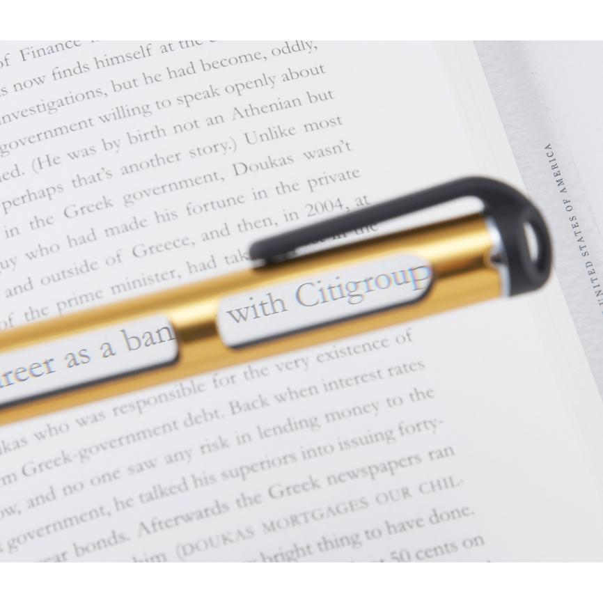 ルーペペン 新聞などの細かな文字がこのペンで手軽にサラッと読めます ルーペ 200個セット販売