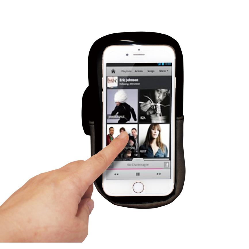 スマホアームポーチ スポーツやアウトドアシーンで大活躍 スマホの携帯が格段にラクになります 72個セット販売