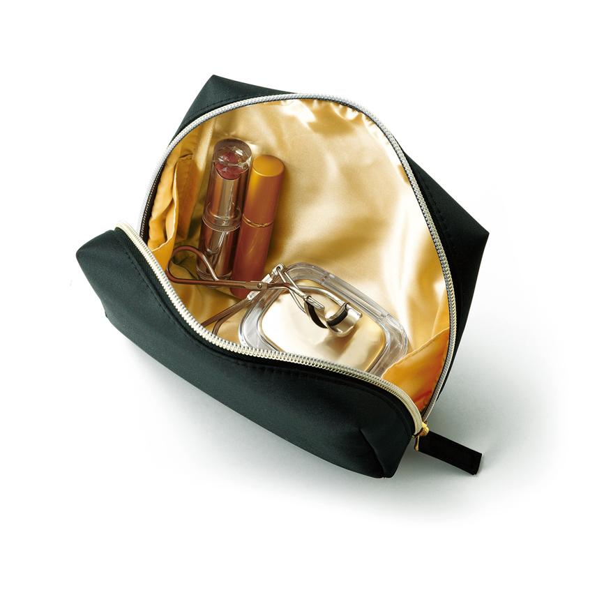 エルトラッド・ゴールドスクエアポーチ バッグの中でかさばらないちょうどいいサイズ 120個セット販売