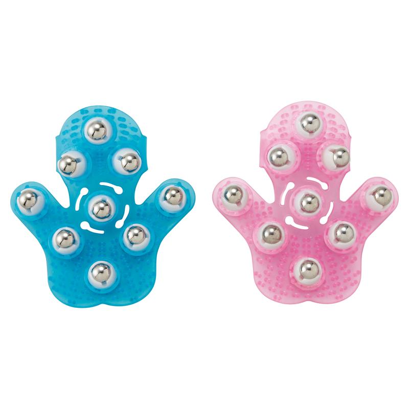 ローラー付きボディリフレグローブ 32個セット販売 表面のボールと内面の柔らかブラシが肌を心地良く刺激する、いつでも簡単ホームケア【名入れ可能商品 別途費用】