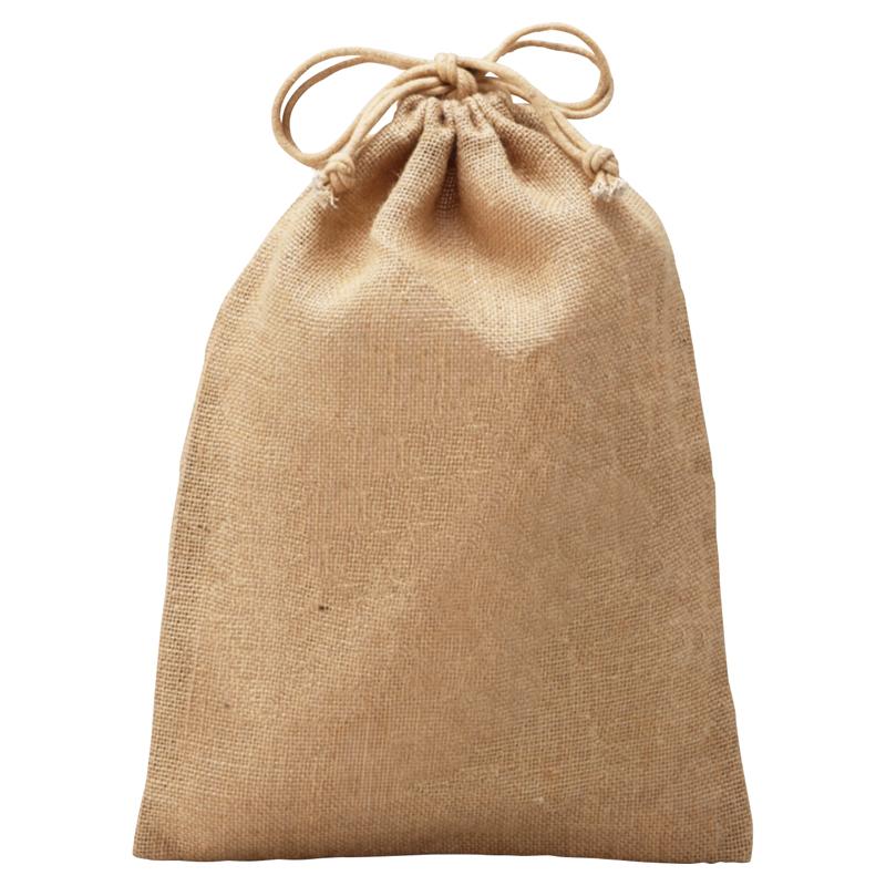 ジュート巾着 開閉が簡単で見た目もかわいらしい巾着型 160個セット販売 【名入れ可能商品】