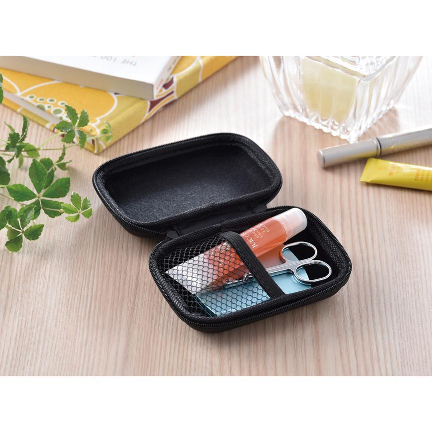 コレクトケース バッグ内でもたつきやすいコードや充電器を、耐衝撃性のあるタフなケースでスマートに収納 100個セット販売