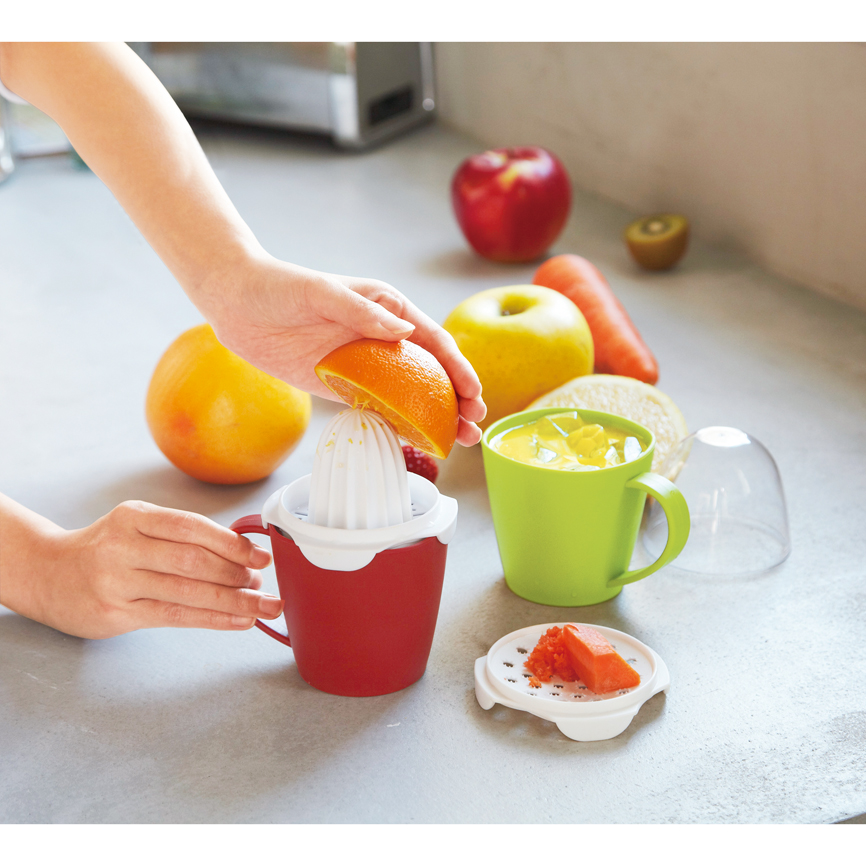 マルチジューサーカップセット(レシピ付き) 果物を絞ればフレッシュジュースが完成!調理器具としても重宝します 60個セット販売