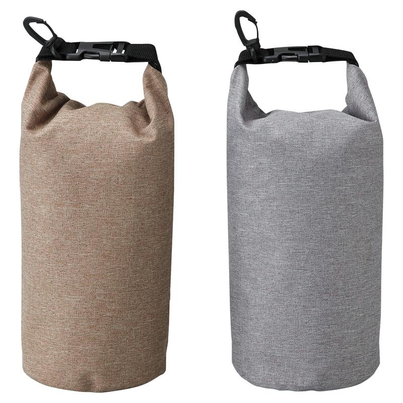 防水バッグ オックスフォード防水バッグ 高級感ある生地を使用したカラビナ付き防水バッグ 120個セット販売