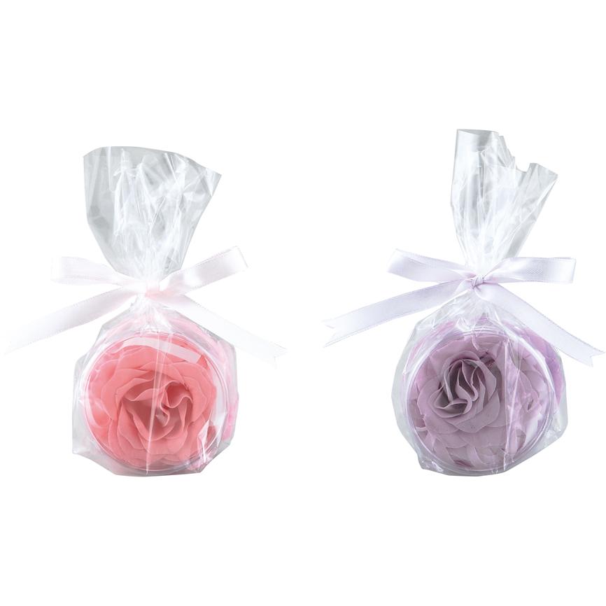 フラワーソープ(ローズ) 120個セット販売 まずは芳香剤として楽しむのもおすすめ。花びら1枚1枚から広がる香りでリラックス