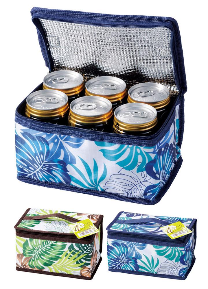 ラッシュリーフ 6缶入る保冷温バッグ 160個セット販売 ドリンククーラー
