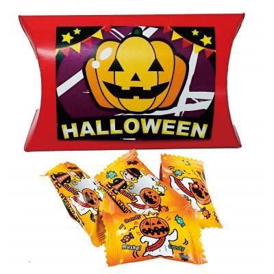ハロウィン 景品 お菓子 ハロウィン パンプキン柄キャンディボックス 200個セット販売 ※代引き不可商品です