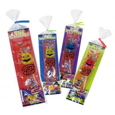 ハロウィン 景品 お菓子 ハロウィンキャンディパックミニ ハロウィン柄の棒付きキャンディとピロー包装キャンディのセット 180個セット販売 ※代引き不可商品です