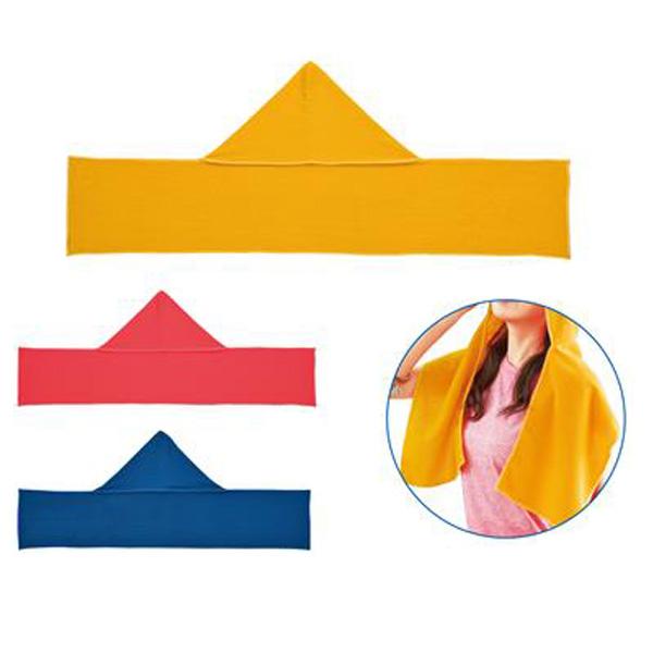 フード付タオル 被れるフード付きタオル 紫外線対策・日焼け対策にも最適 120枚セット販売