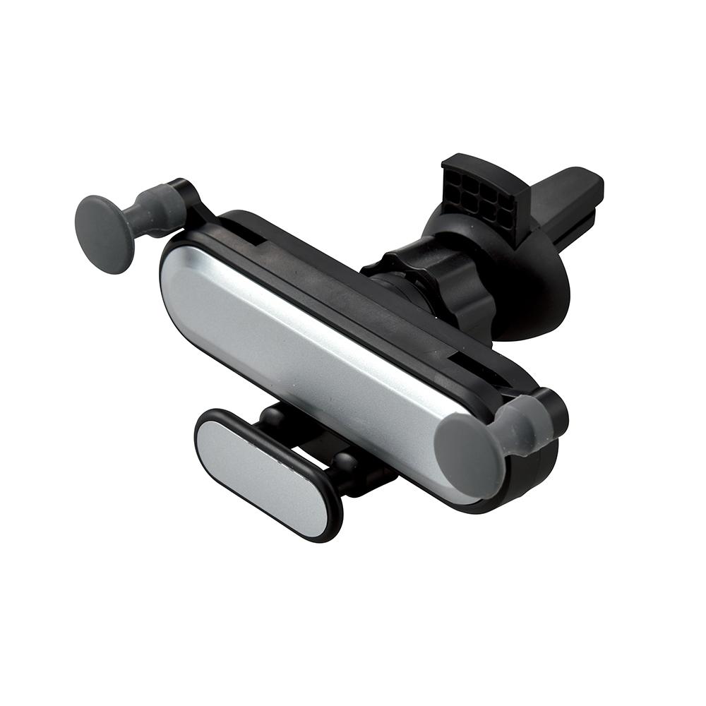 【スマホの重みで固定される スマホホルダー】 車載スマホホルダー 50個セット販売 スマホの重みで固定され、取り外しも簡単。カーエアコンの吹き出しにセットしてスマホスタンドに