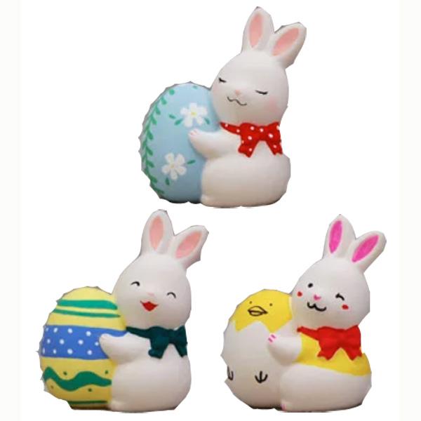 お絵かきイースターバニー うさぎ(陶器) 30個セット販売 お絵かきウサギ ワークショップ・絵付け体験用にも人気