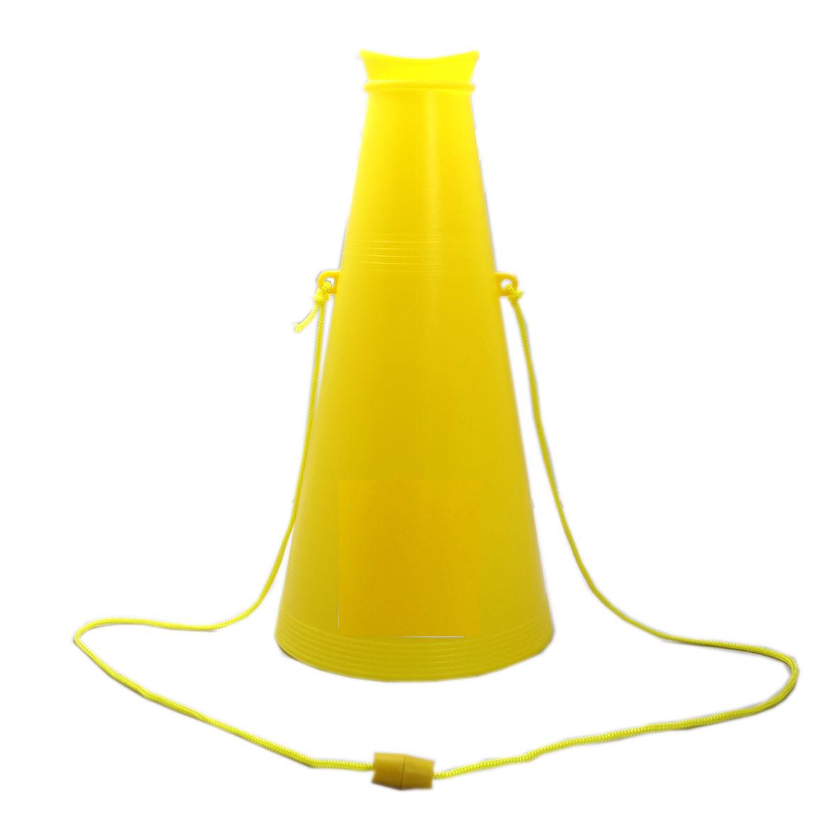 メガホン 黄色 26cm 応援・学園祭・体育祭・運動会 140個セット販売