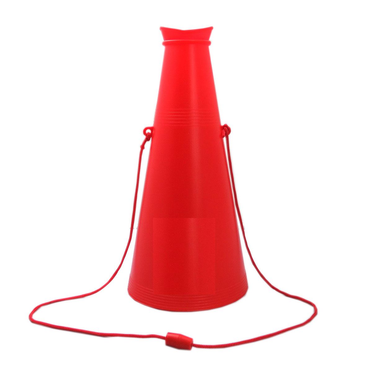 メガホン 赤 26cm 応援・学園祭・体育祭・運動会 140個セット販売