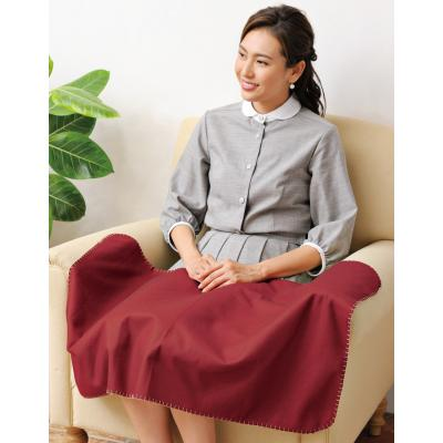 ブランケット まとめ売り 防寒対策グッズ YUKIWA 和装巾着入りひざ掛け 60個セット販売