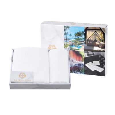 高級タオル 景品 ホテル仕様のフェイス&ハンドタオルセット  厚手コットン100%の心地よさ ホテルの贅沢を毎日の暮らしに取り入れて 48個セット販売