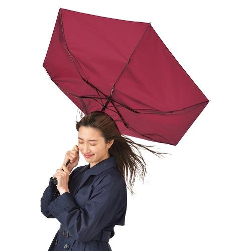 折りたたみ傘 耐風傘 人気ブランド多数対象 まとめ売り 折りたたみ耐風傘 60本セット販売 風速25m sをクリアした 3色取混ぜ 販促品 全国一律送料無料 ちょっと大きめ55cmの折り畳傘 景品