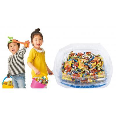 つかみどり大会 抽選大会 お菓子景品付き どれですくえる ?ざくざくお菓子キット100人用 売却 くじ引きで だったらポイでお菓子すくいにチャレンジできます はずれ 特賞 が出たらミニバケツでざくざくすくっちゃおう あたり 品質保証 が出たら恐竜マジックハンドで