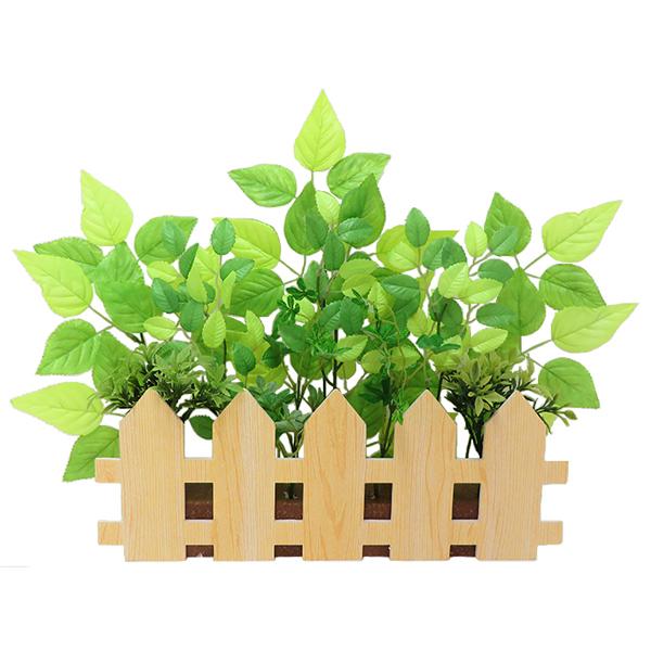 若葉 グリーン 装飾 ディスプレイ 店舗用ディスプレイ ウィンドウディスプレイ 人気上昇中 若葉垣根アレンジ 新色追加して再販 41×54cm