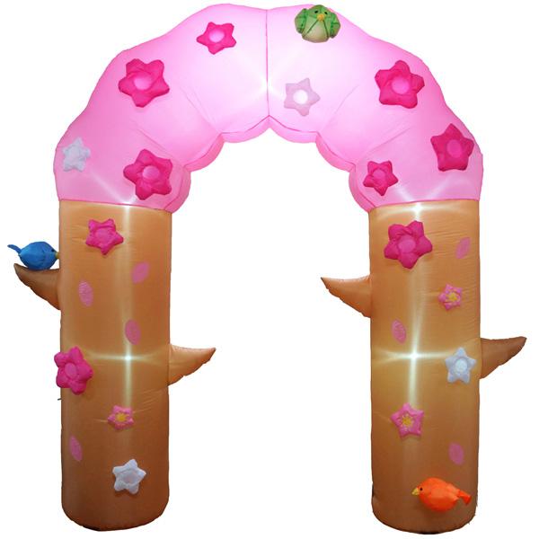 桜 装飾 ディスプレイ エアディスプレイ アーチ桜 330×325×70cm 入学式・入園式にもおすすめ