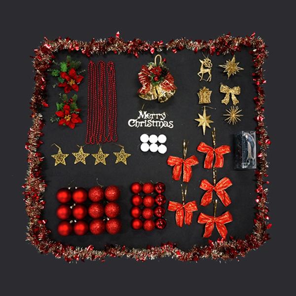 クリスマス 卸直営 オーナメント ツリーを豪華に彩る クリスマスツリー 低価格 オーナメントセット 180cmツリー用 ※オーナメントのみの販売です ディスプレイ クリスマス装飾