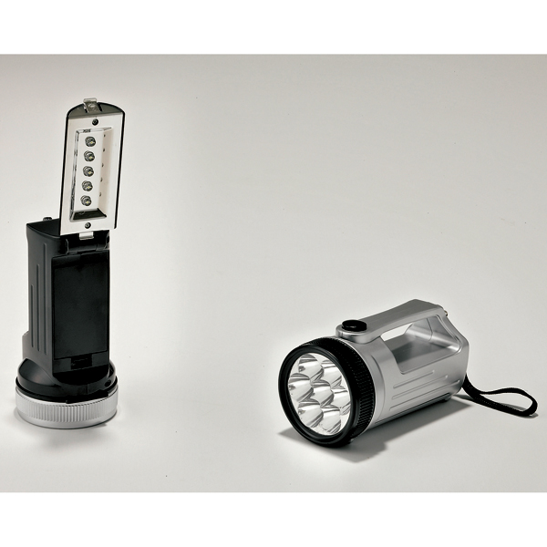 防災グッズ 2WAYパワーライト ハンディライトとしてもスタンドライトとしても使えます 2色アソート 50個セット販売