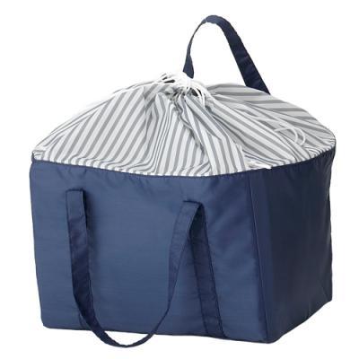レジカゴecoバッグ 80個セット販売 大容量で保冷温もできる!レジかごにフィットし使いやすい 【名入れ可能商品 別途費用】