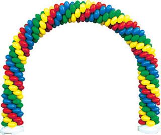 クラスターバルーン クラスターアーチセット O 風船を膨らませて骨組みに通すだけ 店頭装飾 目立つ装飾 【代引き不可商品】