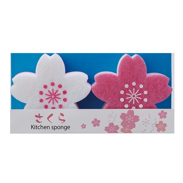 桜コレクション 景品 さくらキッチンスポンジ 100個セット販売