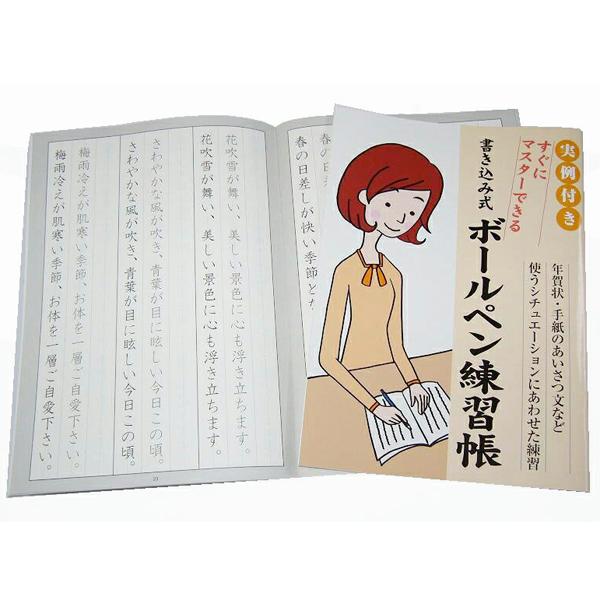 美文字練習 ボールペン練習帳 楷書 知育学習 200冊セット販売