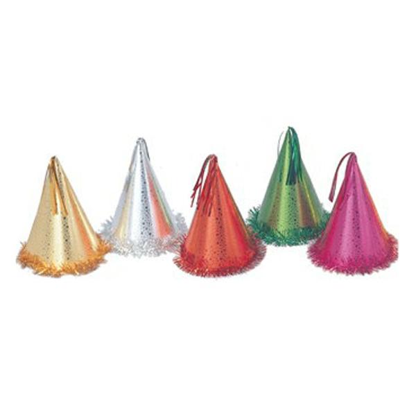 クリスマス パーティーハット 帽子 エンボスラッキー 100個セット販売