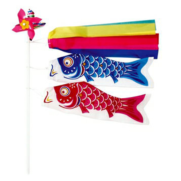 鯉のぼり こどもの日 ディスプレイ 鯉のぼりミニミニセット 24個セット販売
